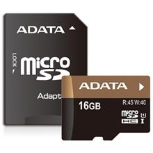 ADATA Premier Pro UHS-I U1 Class 10 45MBps microSDHC 16GB With Adapter